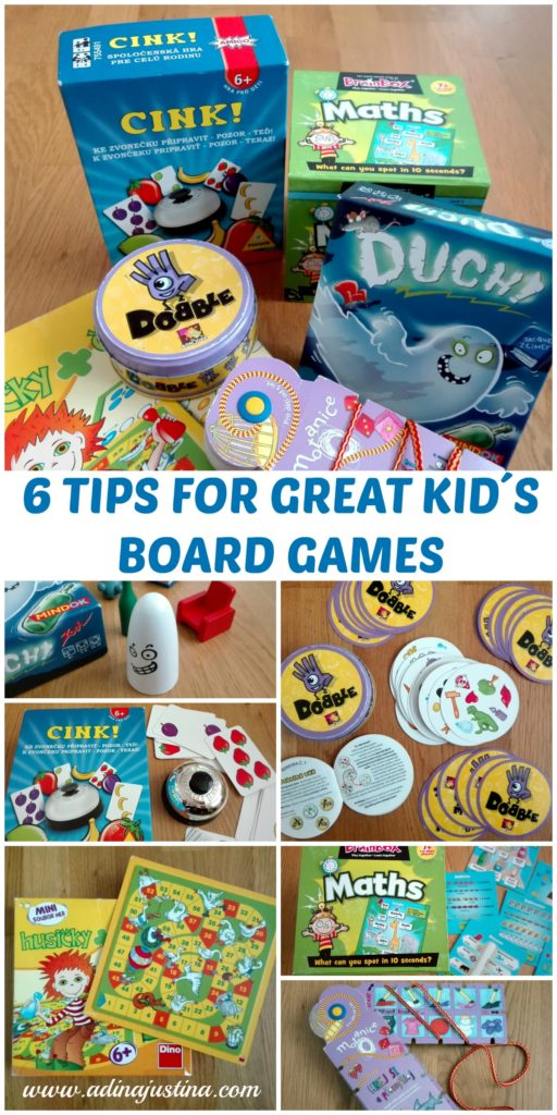 6 Tips for great kid´s board games