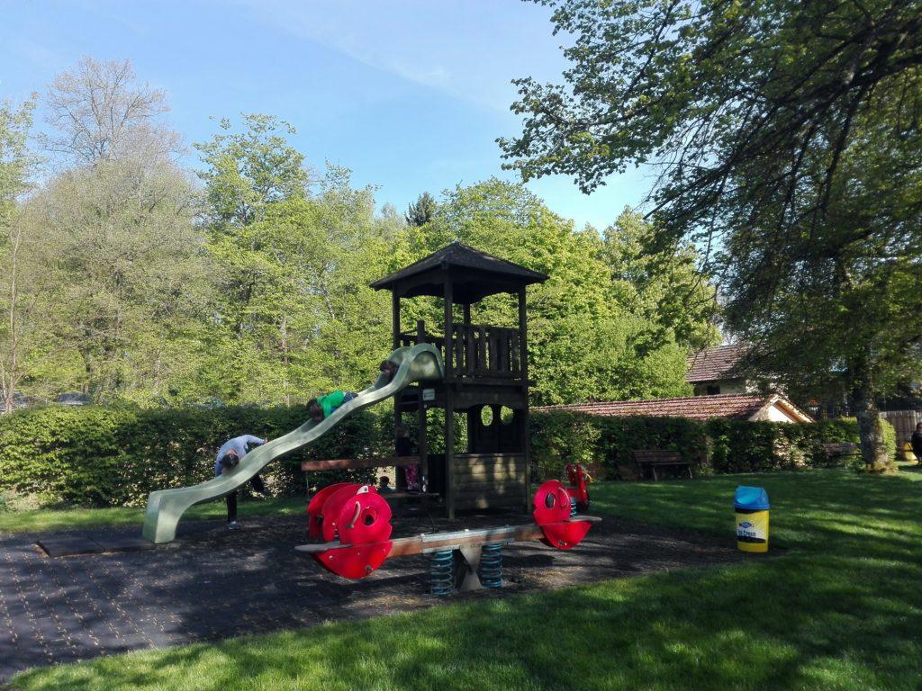 Burgäschi strandbad children´s playground
