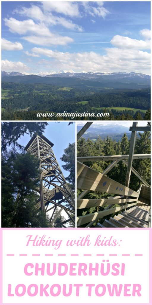 An easy walk to the Chuderhüsi lookout tower