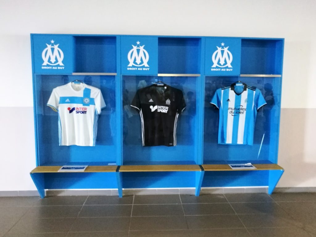 Olympique Marseille season jerseys