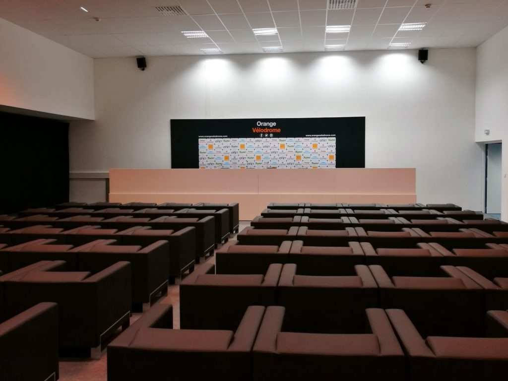 Orange Vélodrome press room