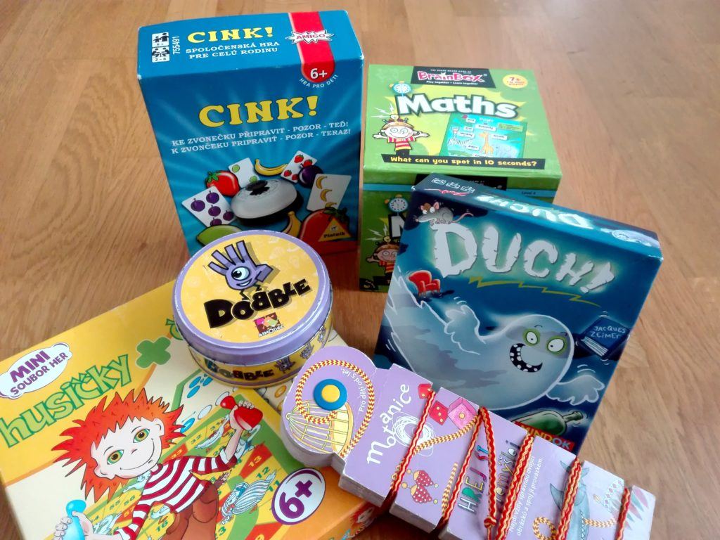 Ouf favorite board games for kids