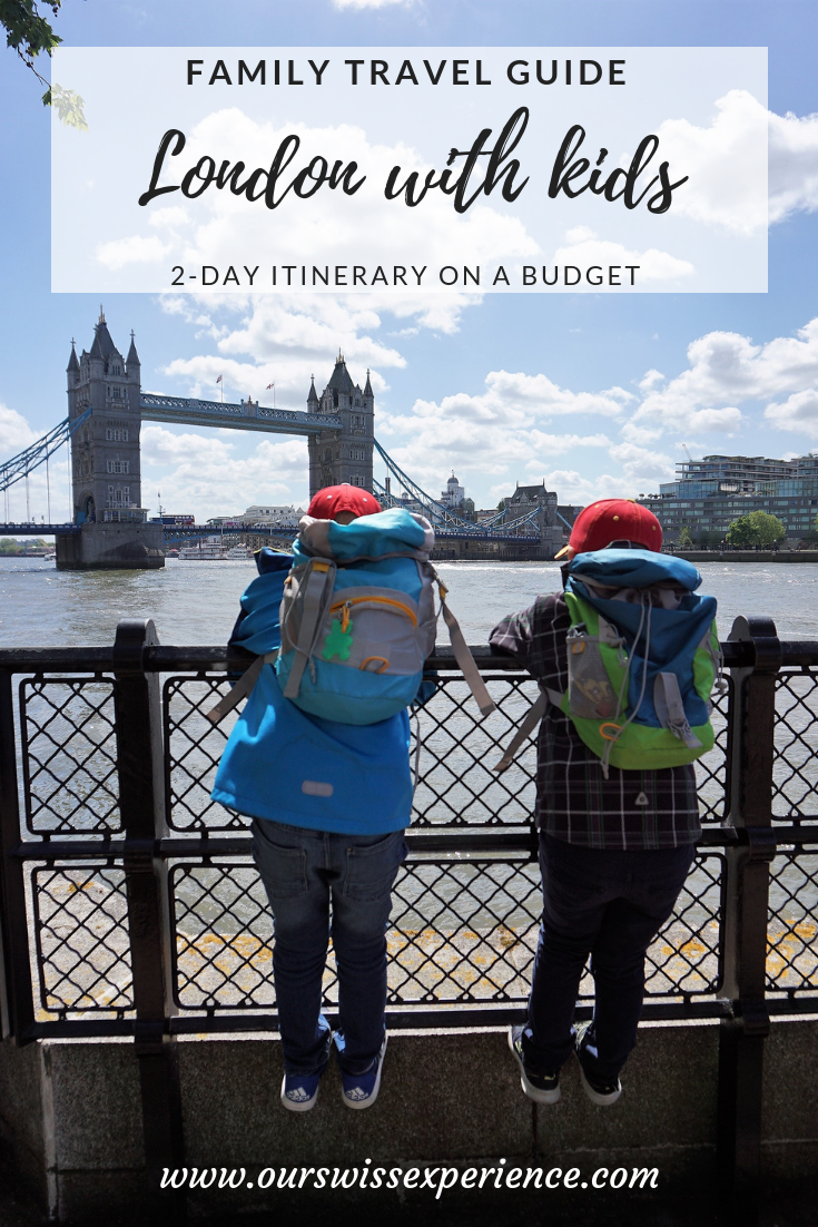 London with kids family travel guide