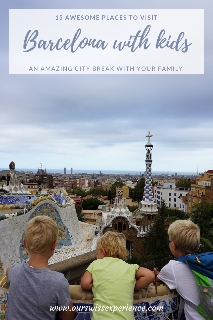 Barcelona with kids itinerary