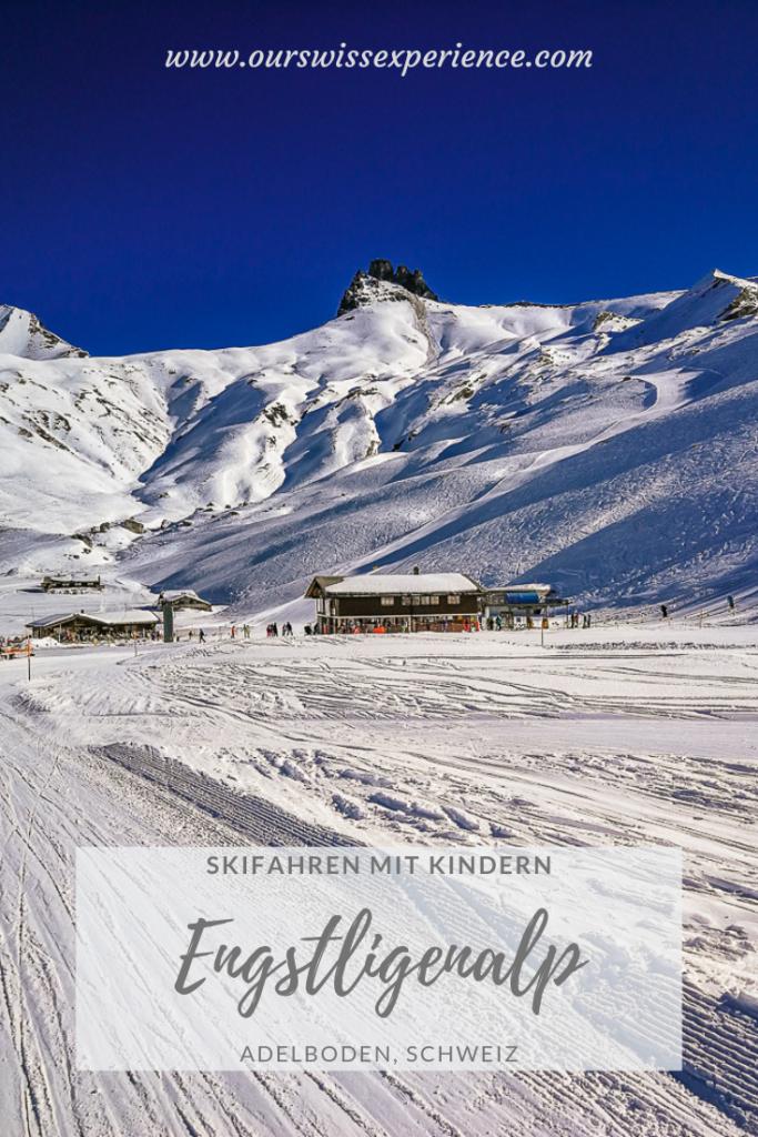 Skifahren mit Kindern Engstligenalp Adelboden