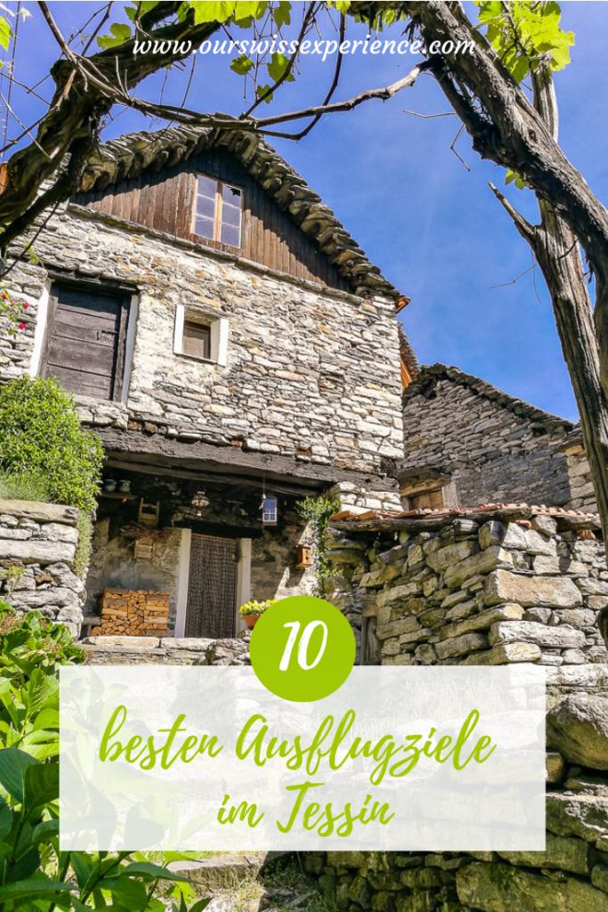 Die 10 besten Ausflugziele im Tessin