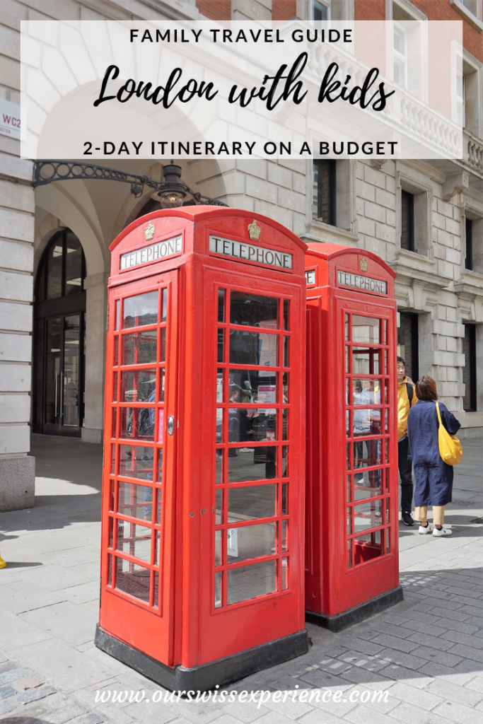 London with kids family travel guide 2